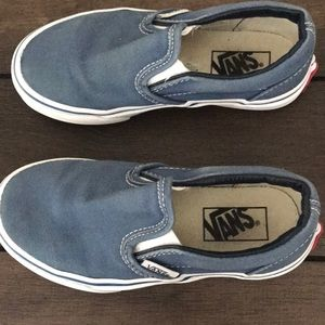 Vans Boys Classic Slip on Sneakers